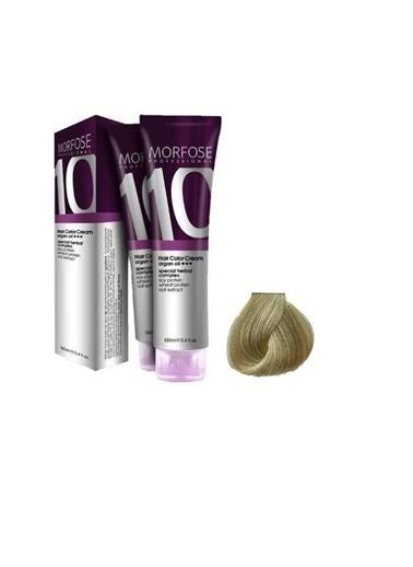 Morfose Morfose Saç Boyası 100 Ml 10 Platin Sarı Renkli